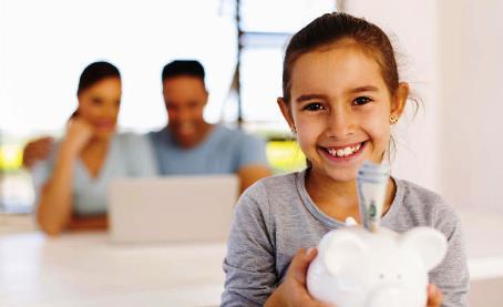 Como enseñar el hábito del ahorro a nuestros hijos