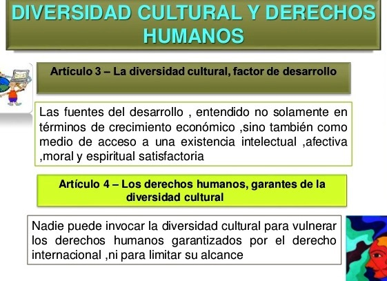 Relación entre diversidad cultural y derechos humanos